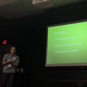 Presenting at WordCamp Peoria 2018